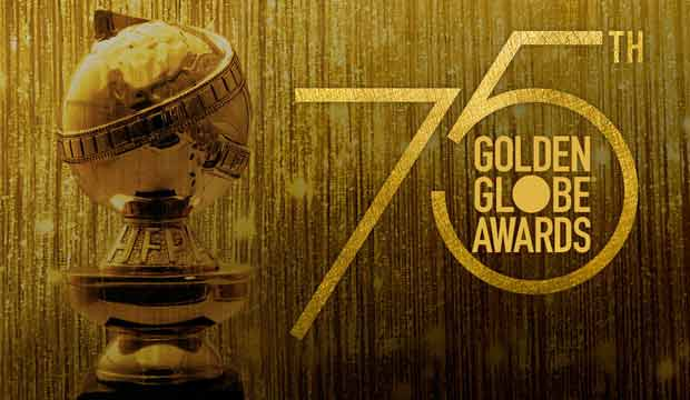 Promotional picture for the 75th Golden Globe Awards